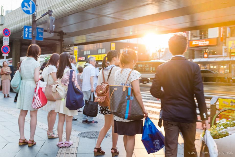 Tokyo 2014. Roppongi Crossing.Fuji x100s