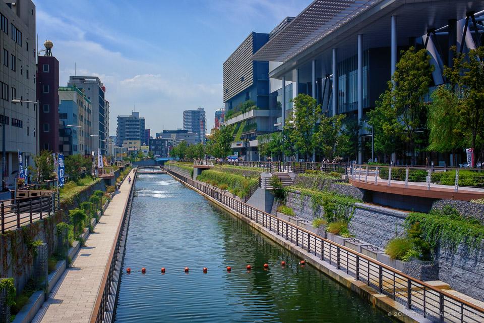 Streets of Tokyo - Asakusa just outside Tokyo Skytree.Fuji x100s