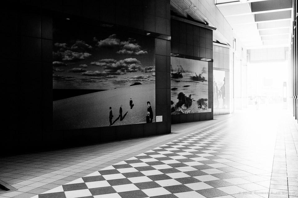 Outside the Tokyo Metropolitan Museum of Photography in Ebisu, Tokyo. Fuji x100s.