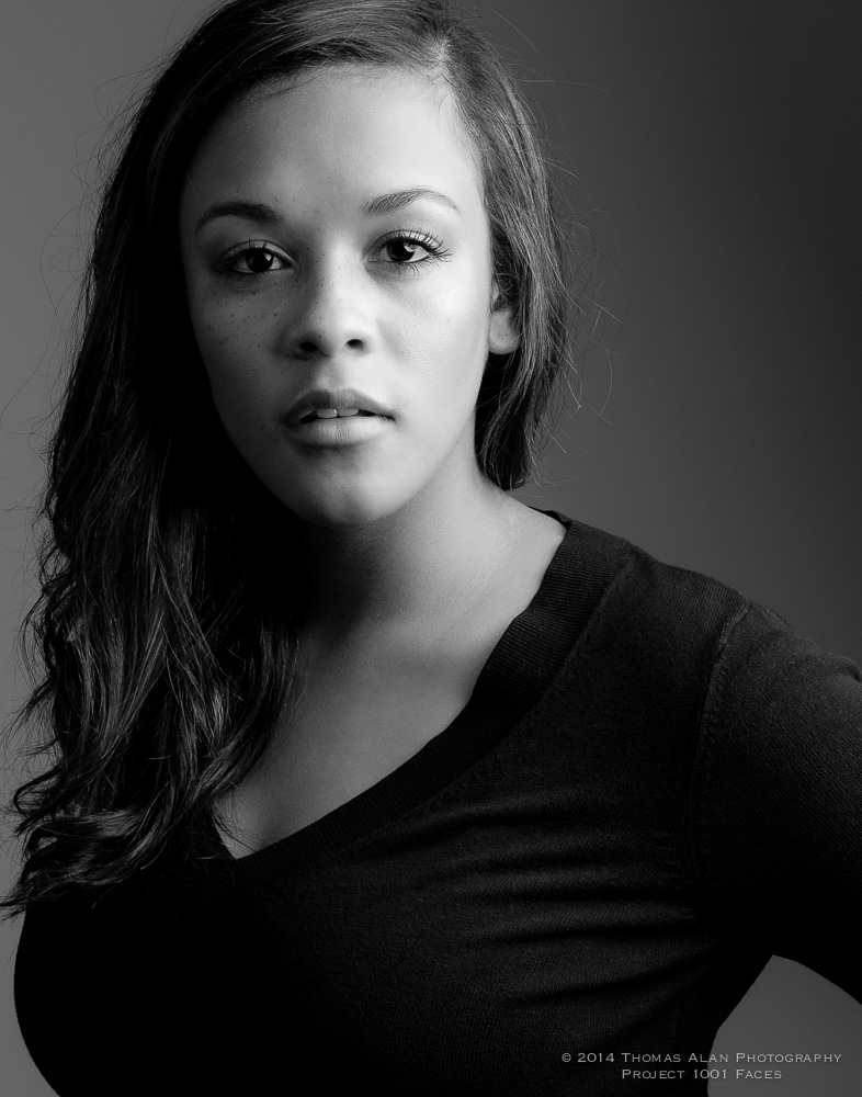 Phylicia - Project 1001 Faces. Fuji x100s with the TCL-x100 Teleconverter Lens.