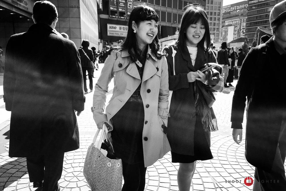 Shinjuku, Tokyo - iPhone 6 Plus, ISO 32, f/2.2, 1/1500 sec. Edited in Lightroom Mobile.