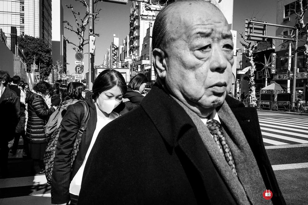Shinjuku, Tokyo - iPhone 6 Plus, ISO 32, f/2.2, 1/2000 sec. Edited in Lightroom Mobile.