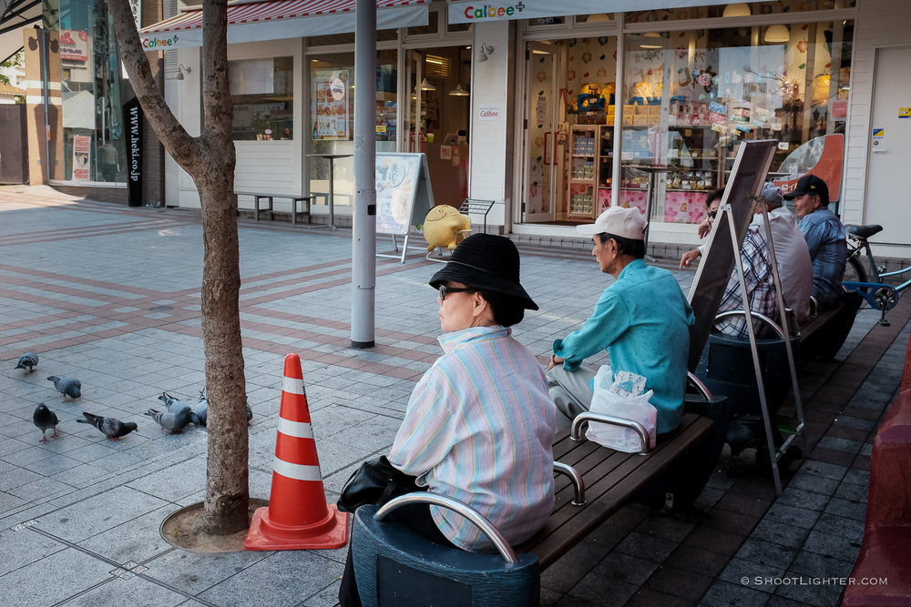 Naha, Okinawa Japan - Fuji x100T, ISO 1600, f/5.6, 1/500 sec. Edited in Adobe Lightroom 6.