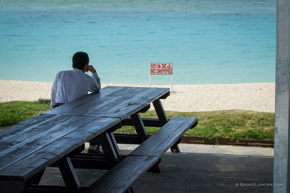 Waiting for Summer - Ginowan, Okinawa, Japan. Fuji X-Pro1, 18-55mm lens.