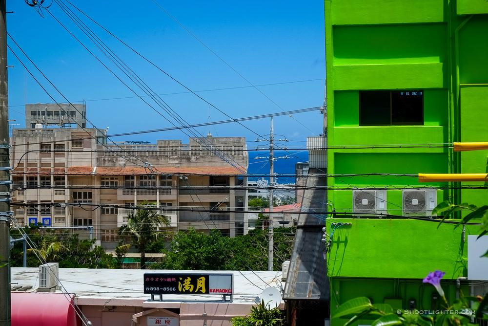 Color and Chaos - Ginowan, Okinawa, Japan. Fuji X-Pro1, 18-55mm lens.