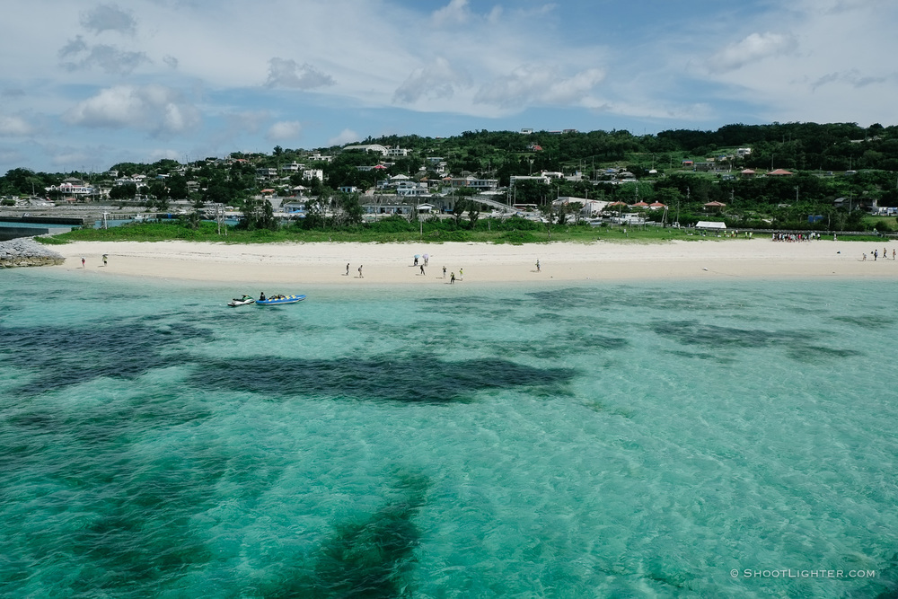 Kouri Island Beach,Okinawa, Japan. - Fuji X-Pro1, 18-55mm f2.8 lens.