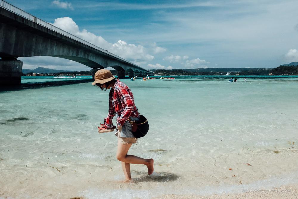 Kouri Island, Okinawa, Japan. - Fuji x100T.