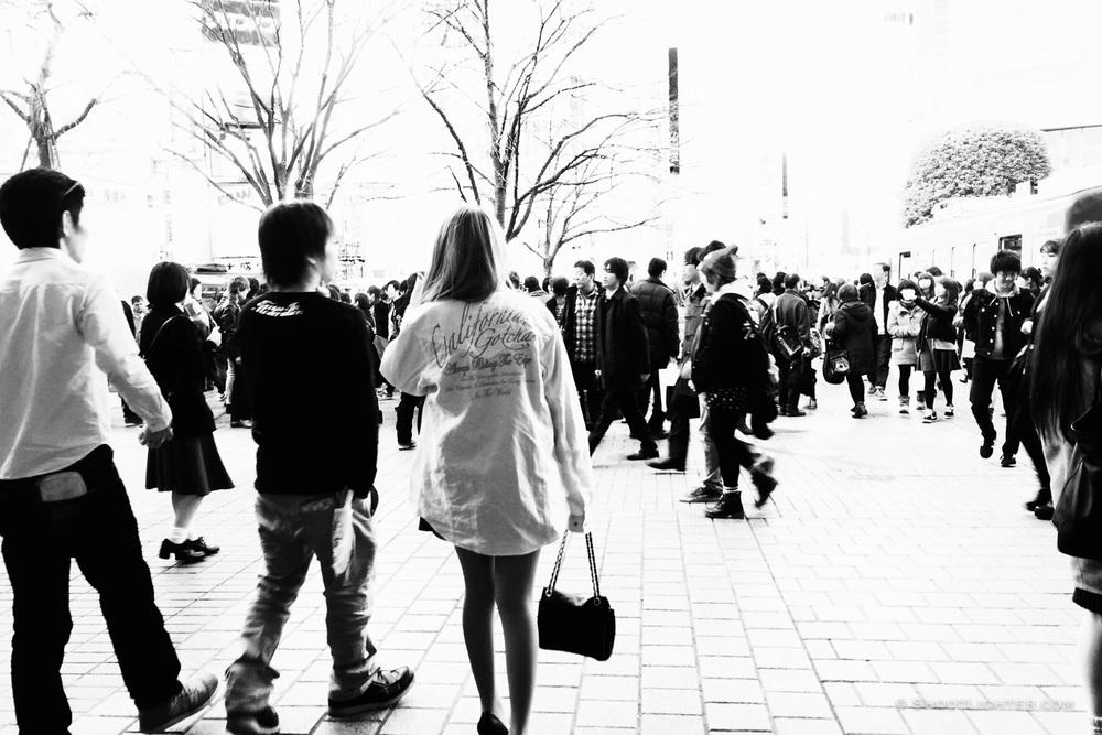 Shibuya, Tokyo. iPhone 6 Plus.
