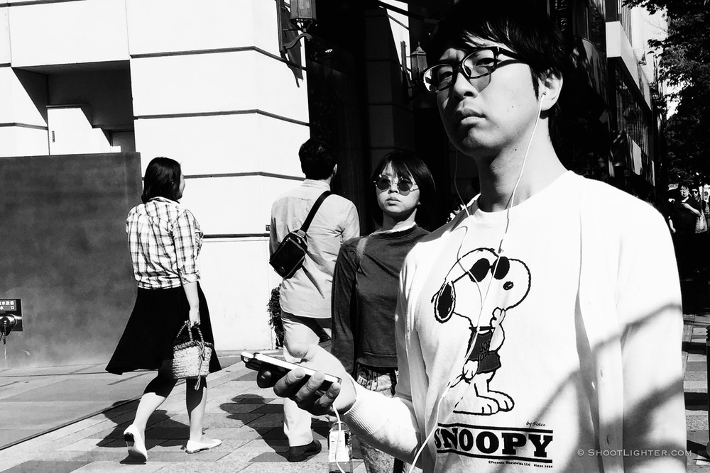 Omotesando, Tokyo, Japan. iPhone 6 Plus.