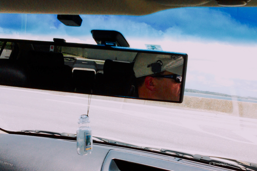 Driving north on Okinawa. Captured with my  Narrative Clip wearable camera .