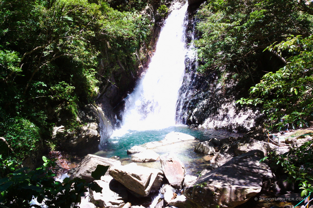 Hiji Falls Okinawa . Captured with my  Narrative Clip wearable camera .