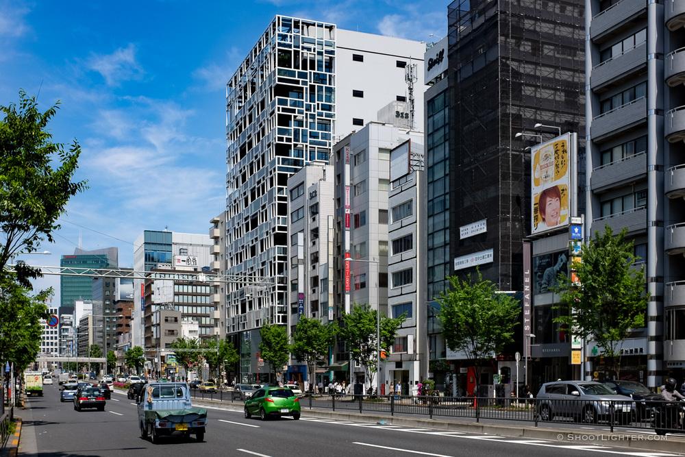 Shibuya near Omotesando. Taken with my Fuji x100T.