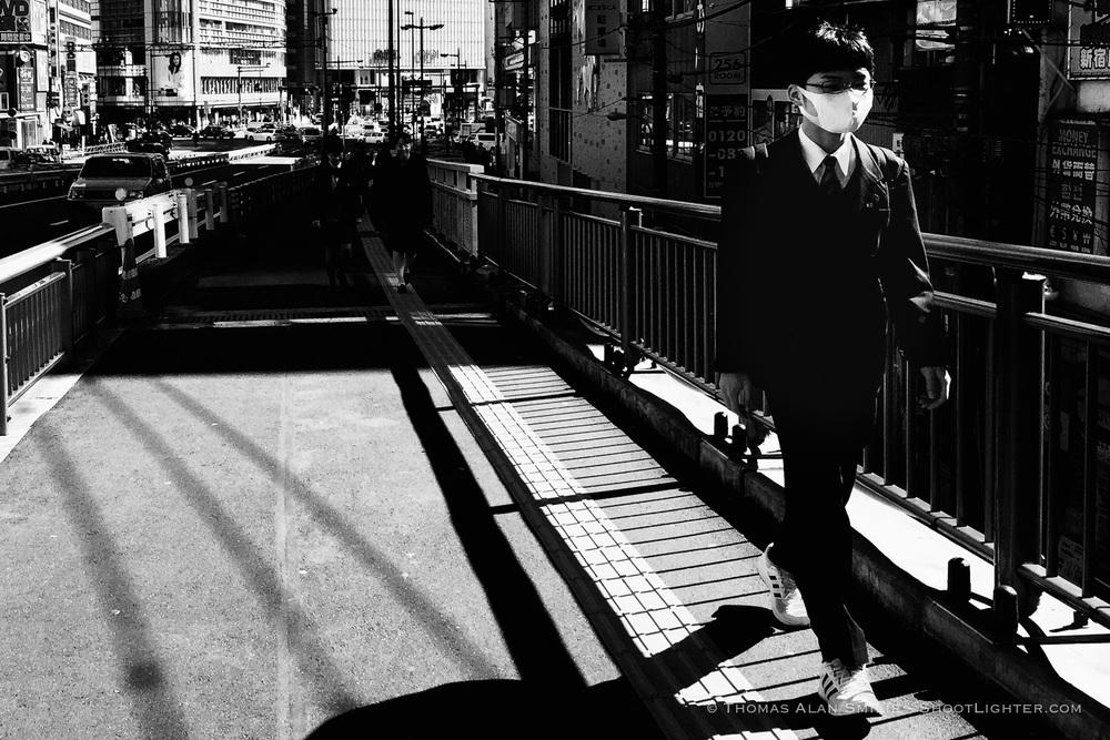 Shinjuku, Tokyo, Japan. iPhone 6 Plus in burst mode. Edited with Adobe Lightroom.