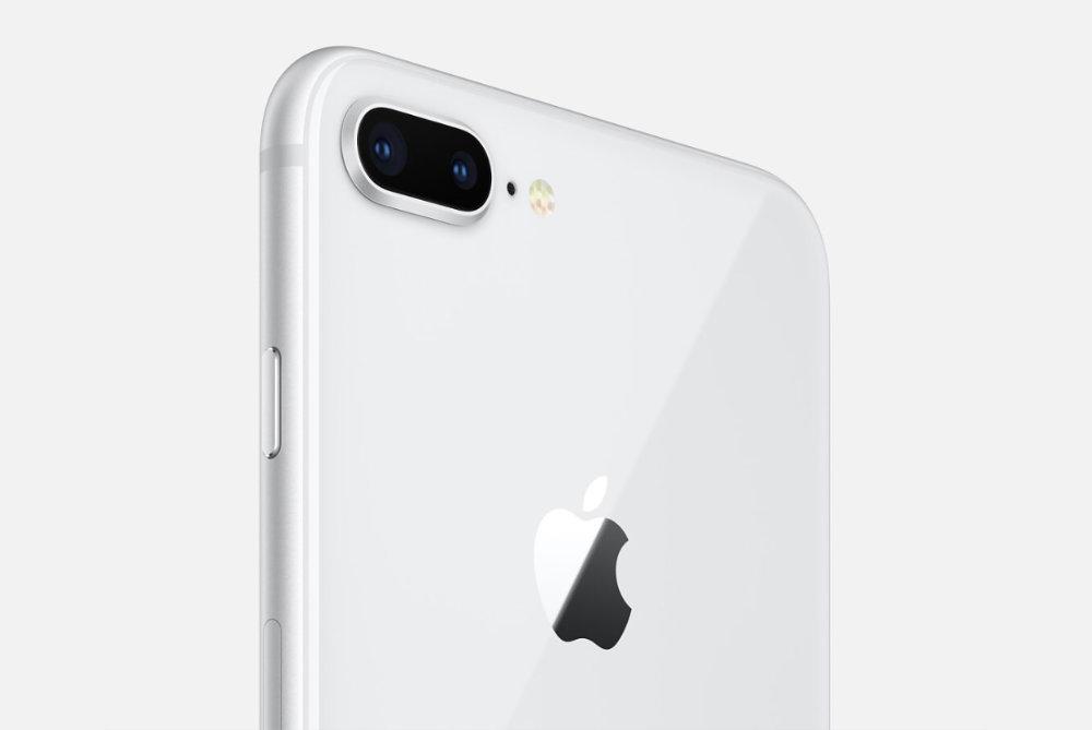 iPhone 8 Plus screenshot from Apple's website.