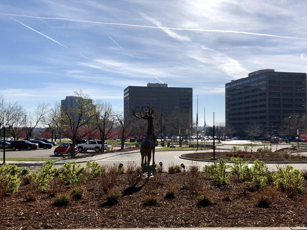 Front on the Marriott Denver Tech Center.
