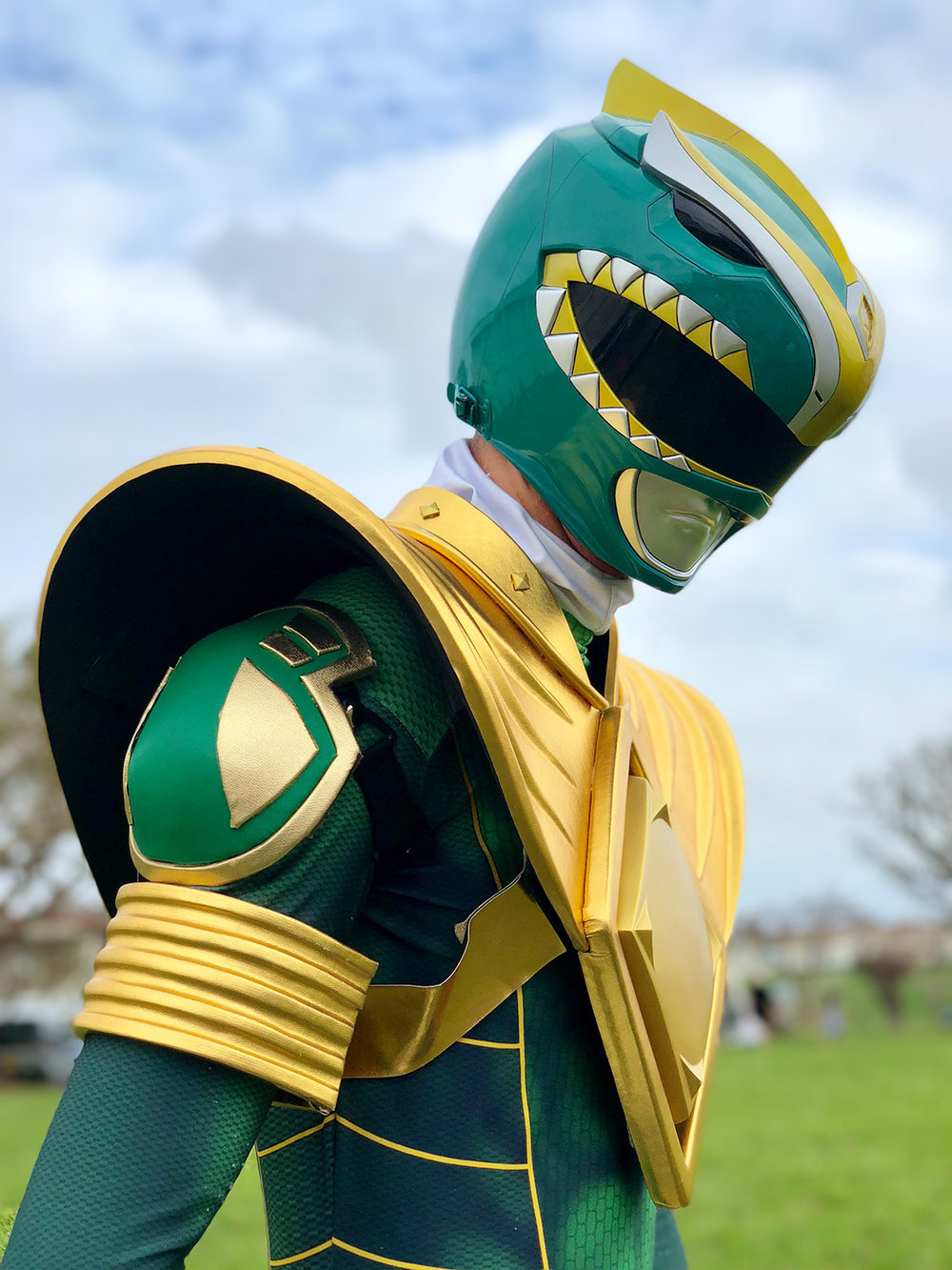 Power Ranger #ShotOniPhone #ShotOniPhoneX using portrait mode.