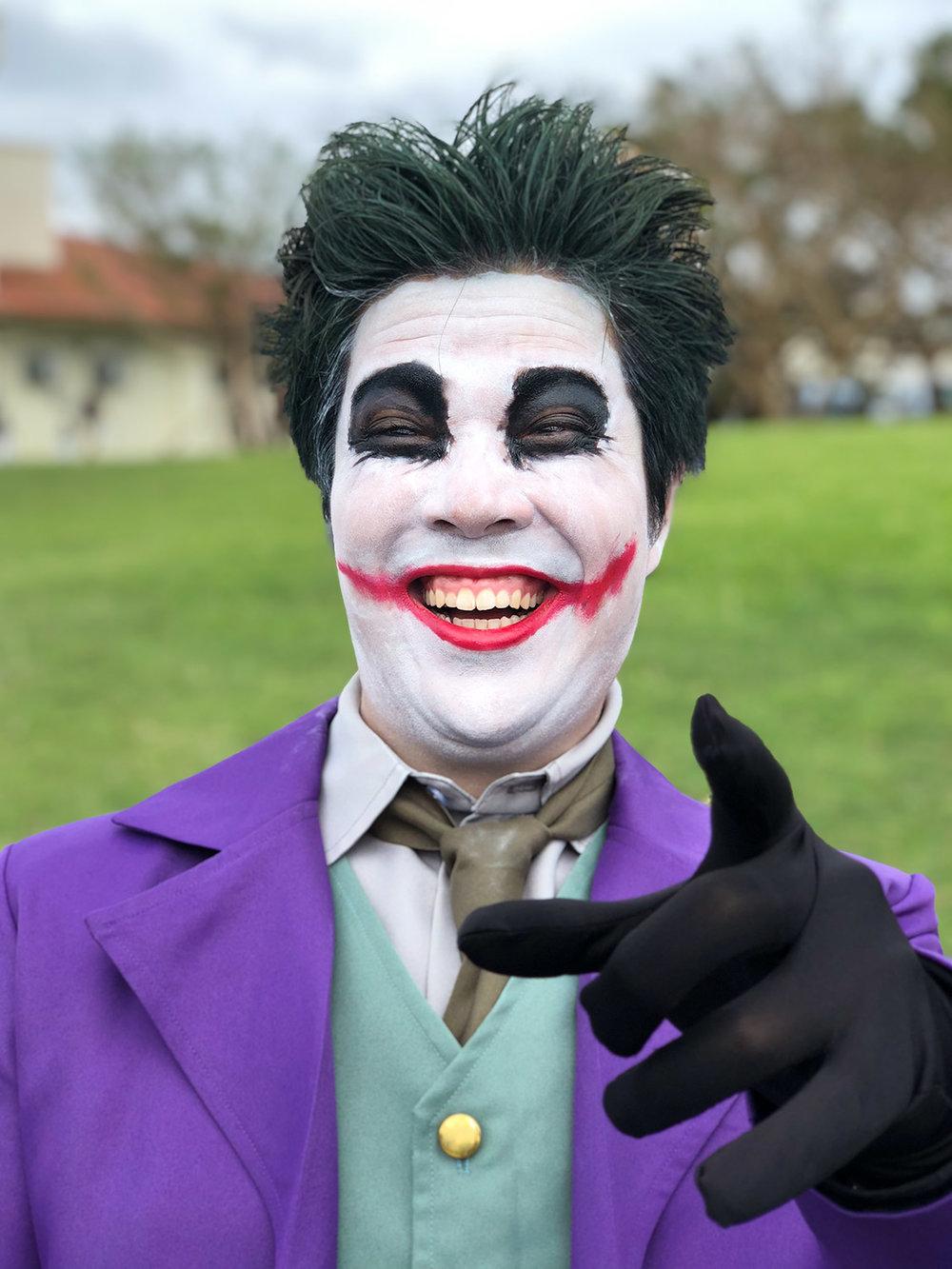 Joker #ShotOniPhone #ShotOniPhoneX using portrait mode.