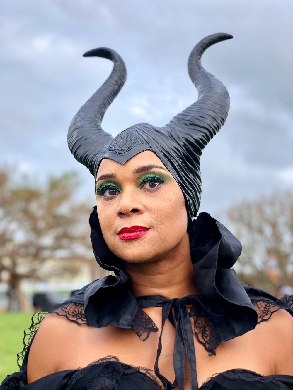 Maleficent #ShotOniPhone #ShotOniPhoneX using portrait mode.