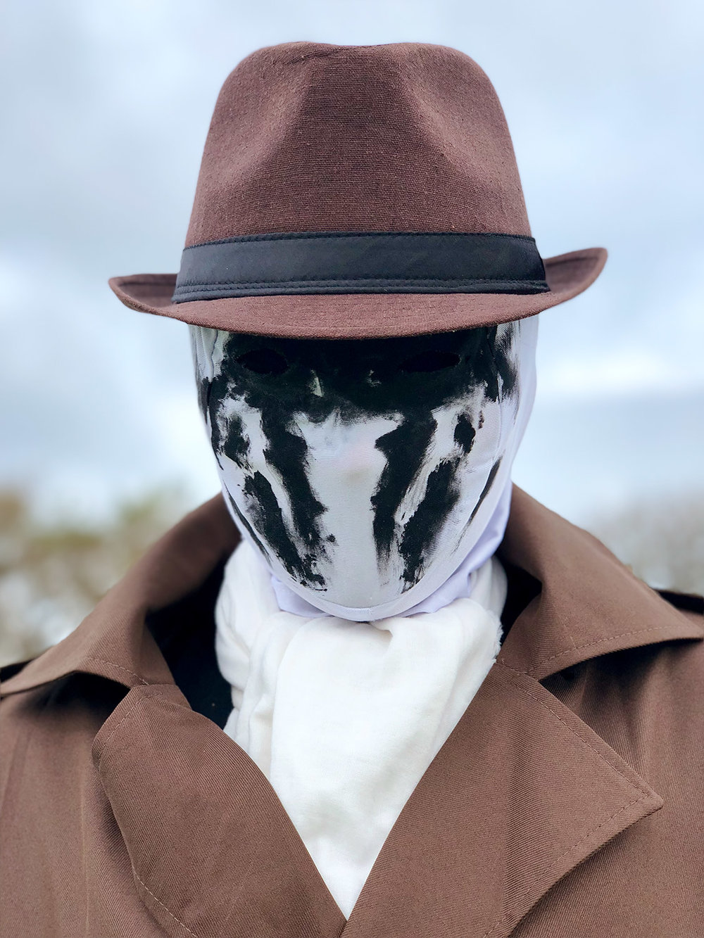 Man without face #ShotOniPhone #ShotOniPhoneX using portrait mode.