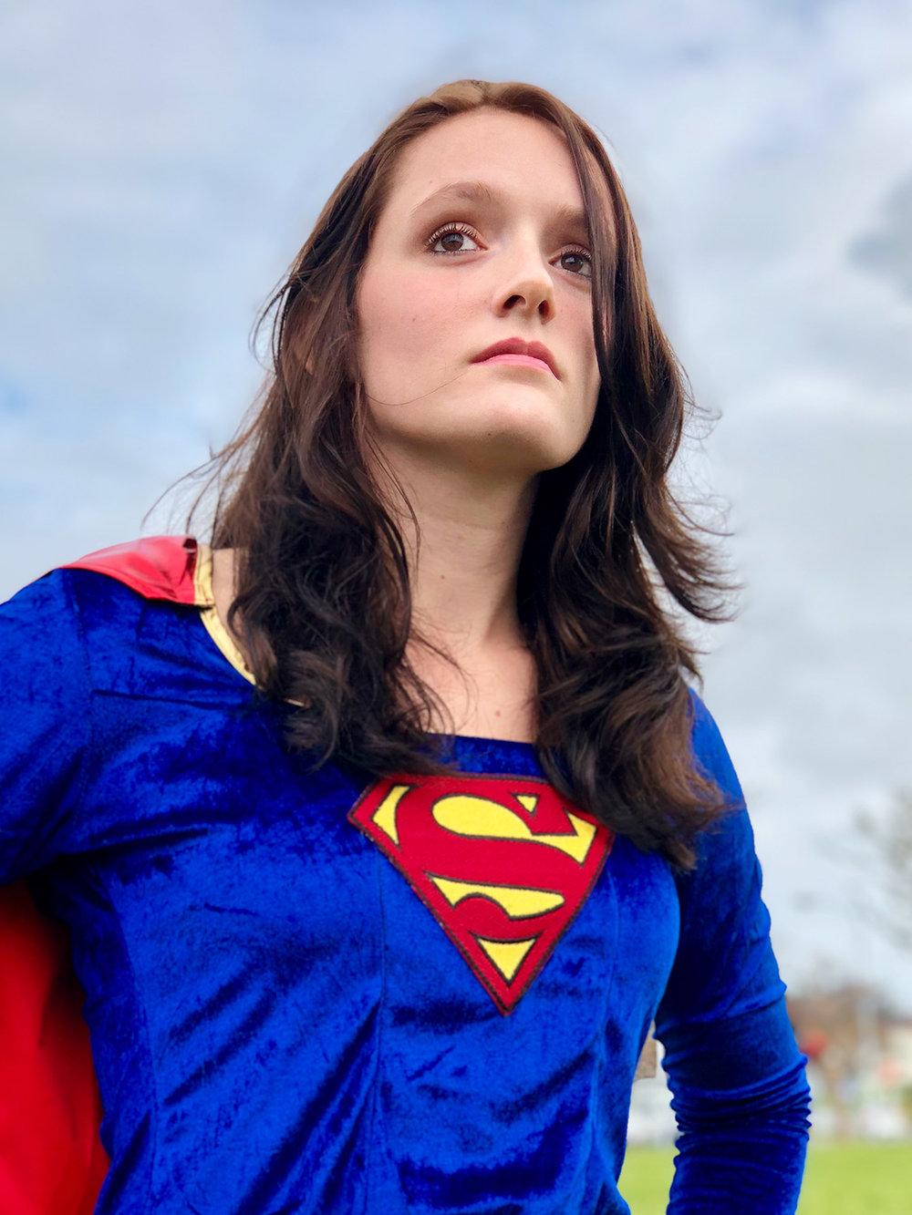 Supergirl #ShotOniPhone #ShotOniPhoneX using portrait mode.