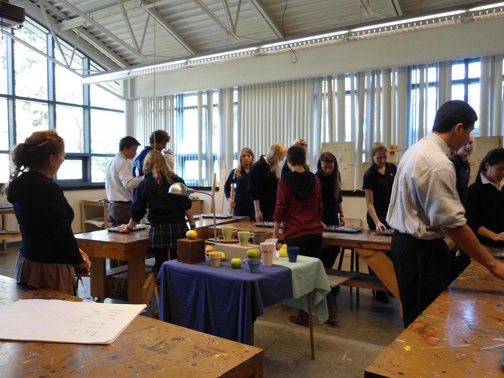 Springside Hill Academy Art Class