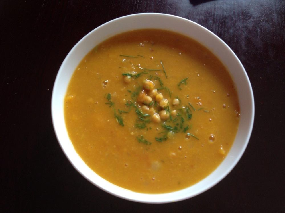 Butternut squash chickpea soup essay