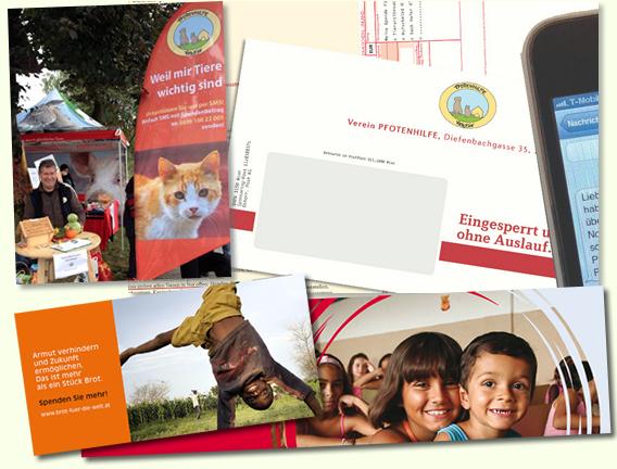 Fundraising Beispiele von der Fundraising Agentur proNPO