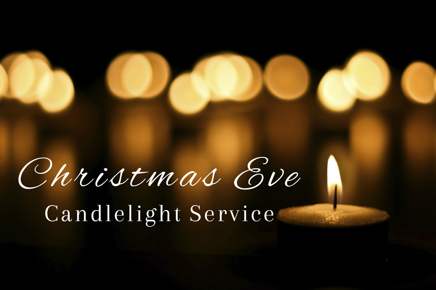 Image result for christmas eve candlelight service