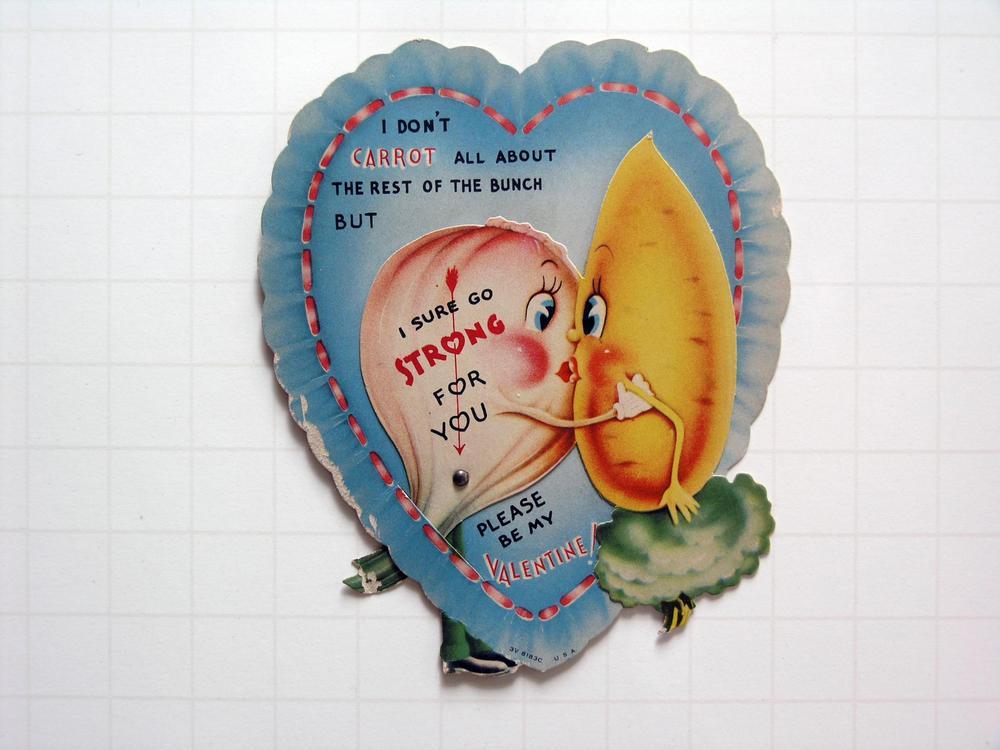 Super kitsch vintage valentine's cards
