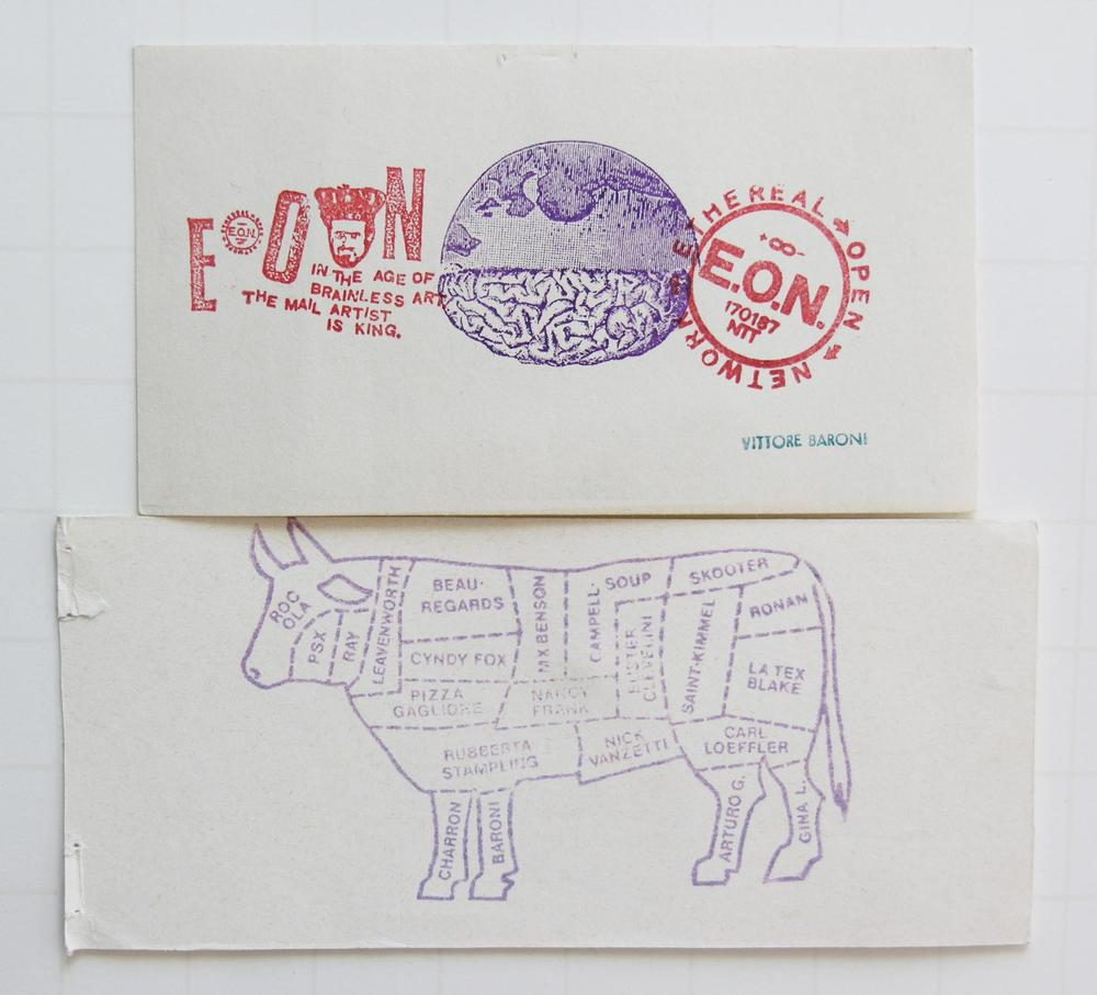 More mail art from the early 90's