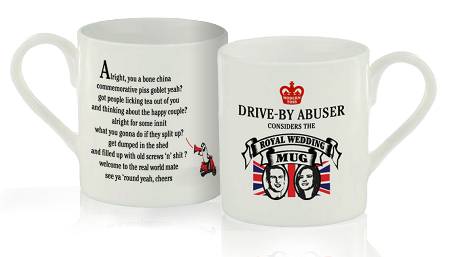 Royal Wedding Piss Goblet  