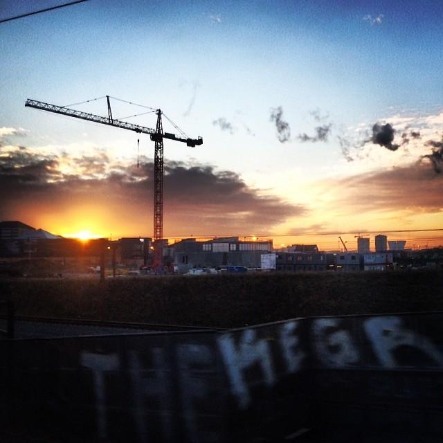 Yay #sunrise before I've left #copenhagen - things are looking up