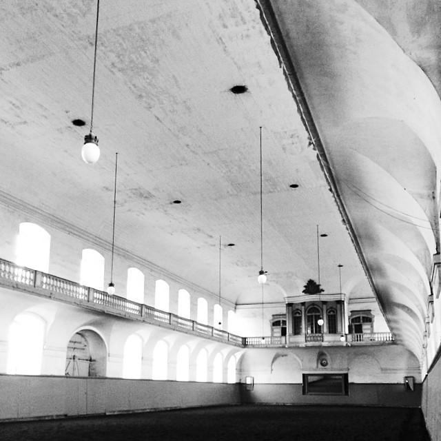 Inside the #kongeligestald #christiansborg #copenhagen - #stables