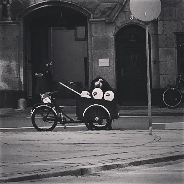#iseefaces #pareidolia #bikes #copenhagen