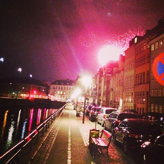 Yay #tivoli is open again, #summer is on it's way - #fireworks #copenhagen