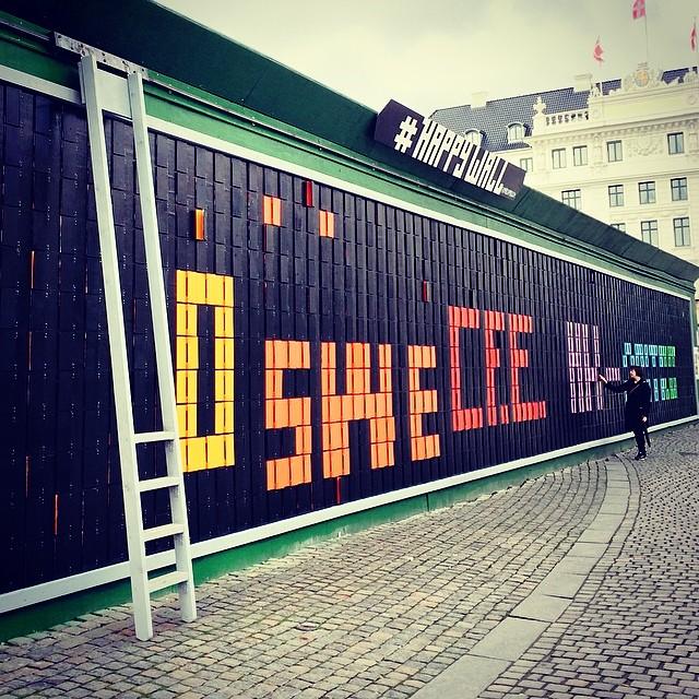 Another great #interactive #art piece on #kongensnytorv #copenhagen