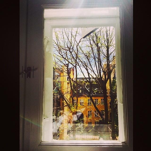#snarens this morning #copenhagen #window