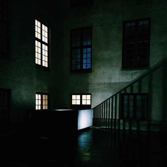 #squares and grids on a #copenhagen #courtyard - #windows #light #geometry #vscocam