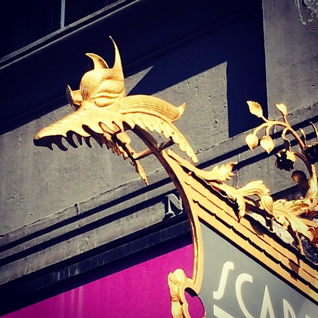 Found another #copenhagen #dragon this morning - #signage