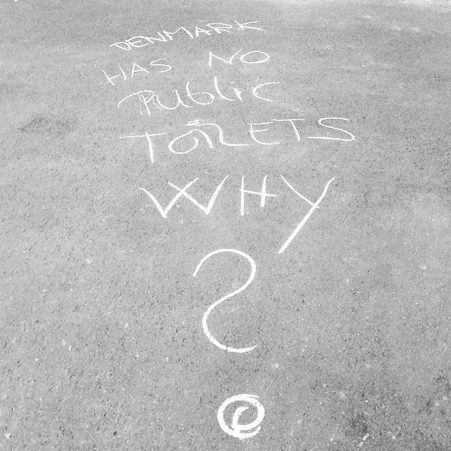 Hot issue in Denmark tonight - #graffiti #euroelections #christiansborg #copenhagen