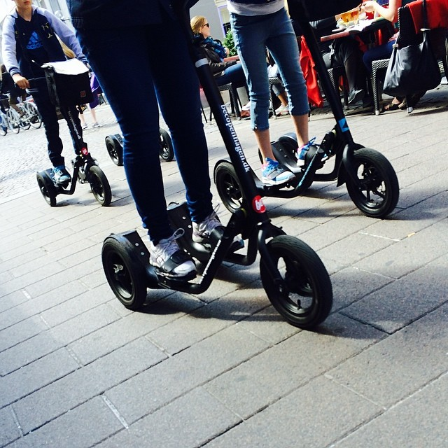 The latest tourist #biketour #horror to hit the streets of #copenhagen - at least it's not more #segways