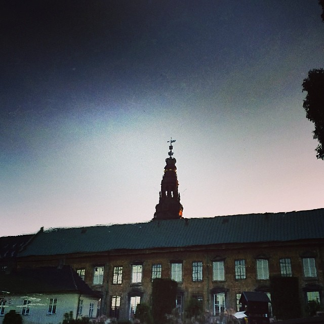 #christiansborg inverted #reflection #copenhagen