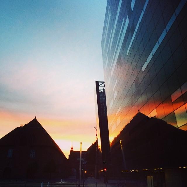 Another great #sunset tonight #blackdiamond #copenhagen