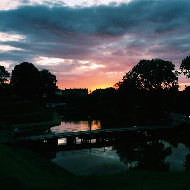 #copenhagen #kastellet #sunset #vscocam