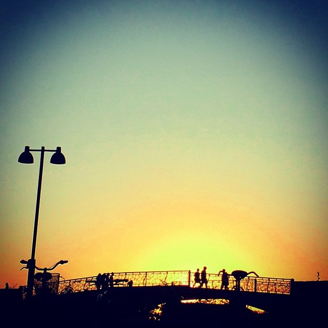 #sunset at the #Toldboden - #summer #copenhagen