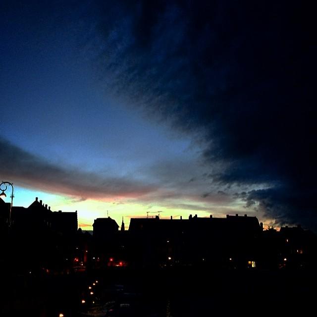 It may be #summer but #somethingincoming - #stormbroen #copenhagen