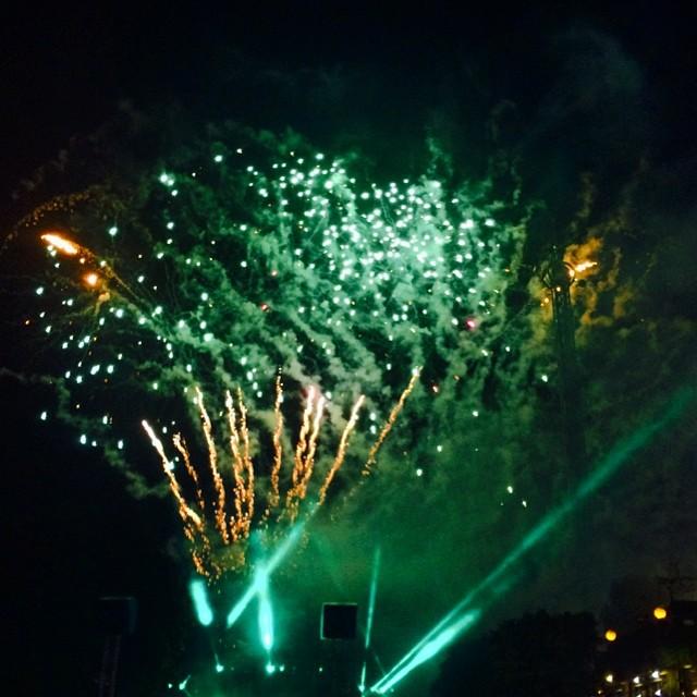 #iseefaces #pareidolia #godzilla #tivoli #fireworks #copenhagen