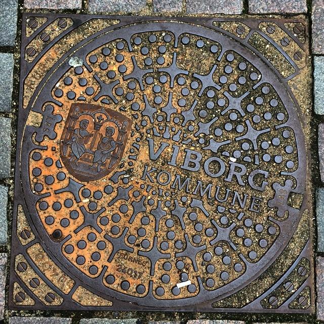 #manholecover in #viborg #denmark