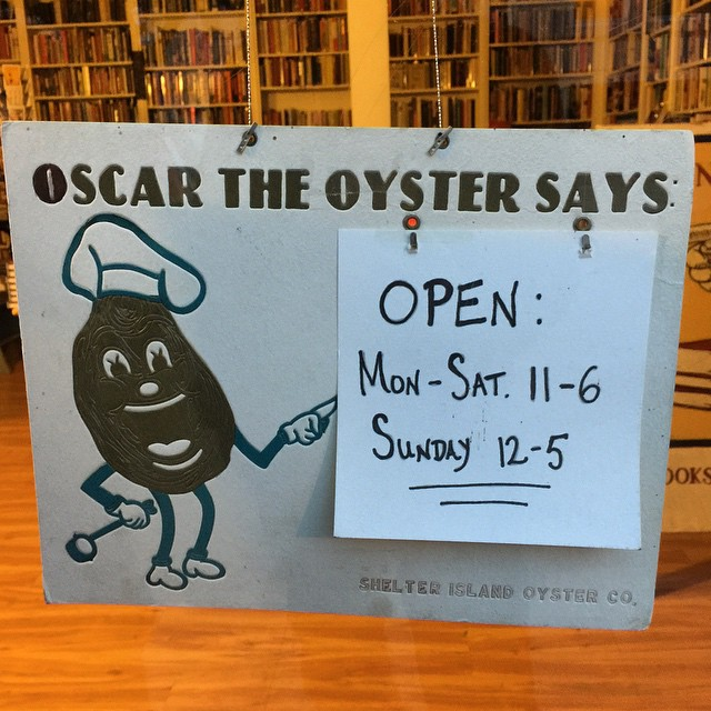 oh it's an oyster #sign #typography #illustration