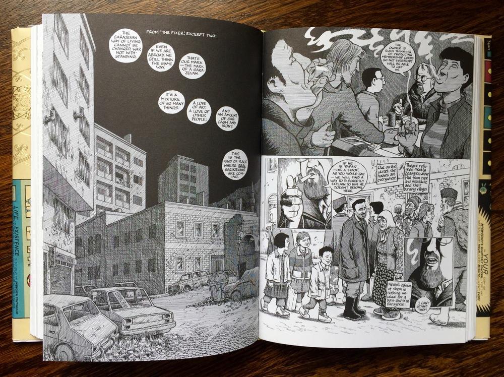 comics spread